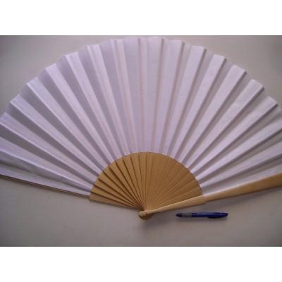 Big hand fan 95 x 50 cm