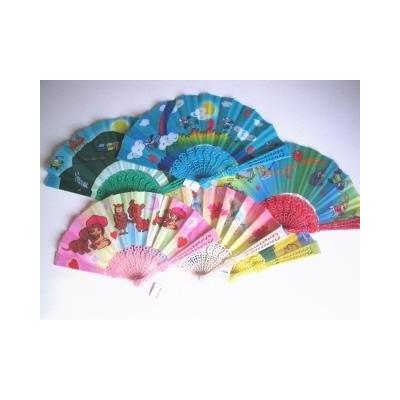 kids hand fans
