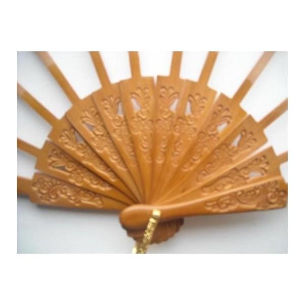 Ribs fans pear wood P 6.5 x 17.5 cms G23