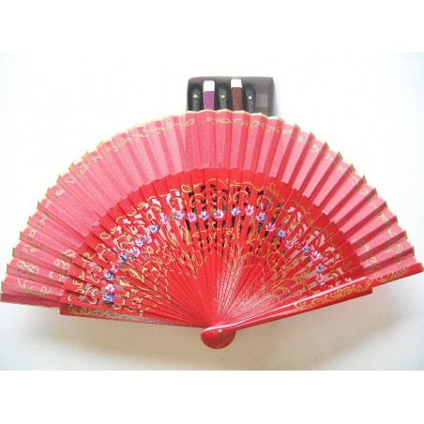 Hand fan 8024 assorted