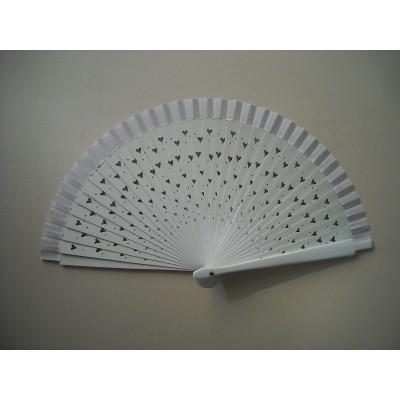 Hand fan 663 white