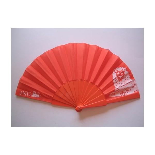 Plastic fan print